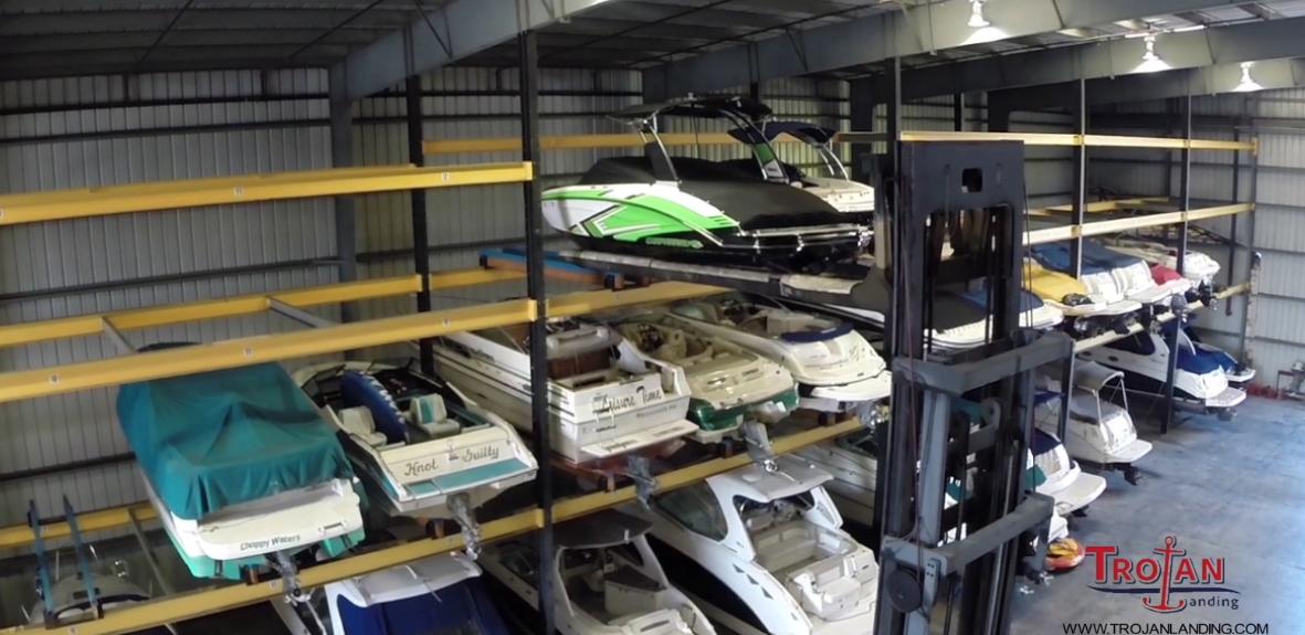 Valet Rack Storage at Trojan Landing