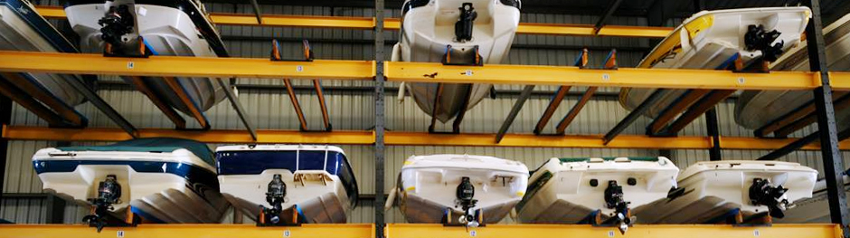 Protect Your Boats With Our Superior Storage Services & Dry Rack Storage | Trojan Landing Marine